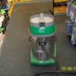 Strojové čištění koberců