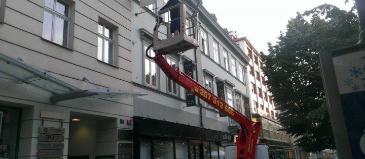 Výškové práce Brno
