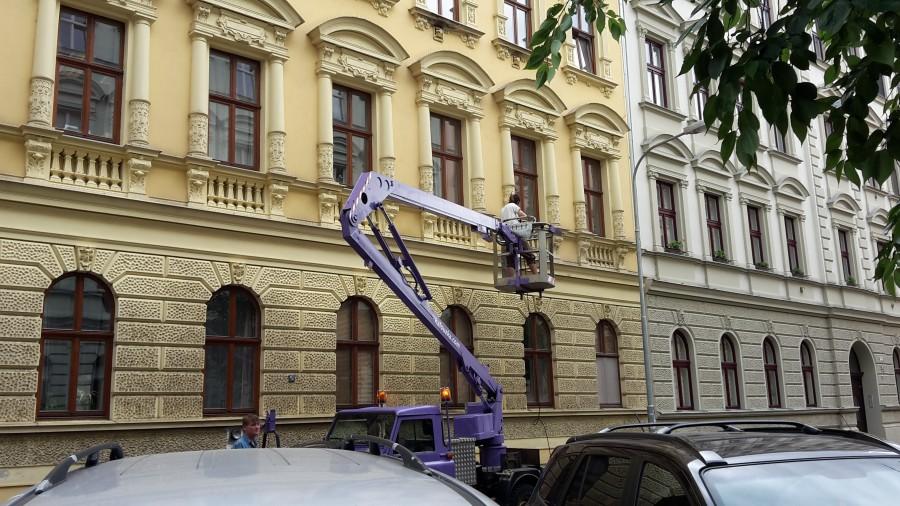 Čištění fasád Brno